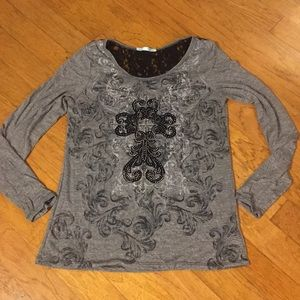 Beautiful top by Maurice's!